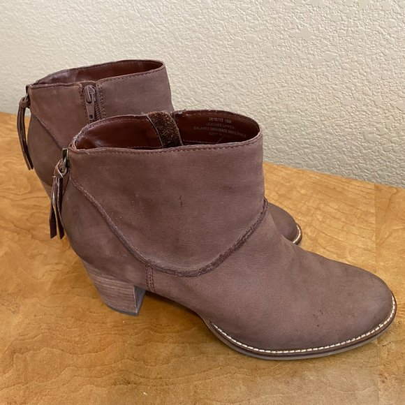 Crown Vintage Brown Suede Boots - Women Size 10